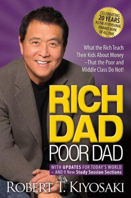 کتابجت: خلاصه کتاب پدر پولدار-پدر فقیر… ۶ درس بزرگ در مورد ثروت که پدرها هیچوقت به فرزندان خود یاد نمی دهند!